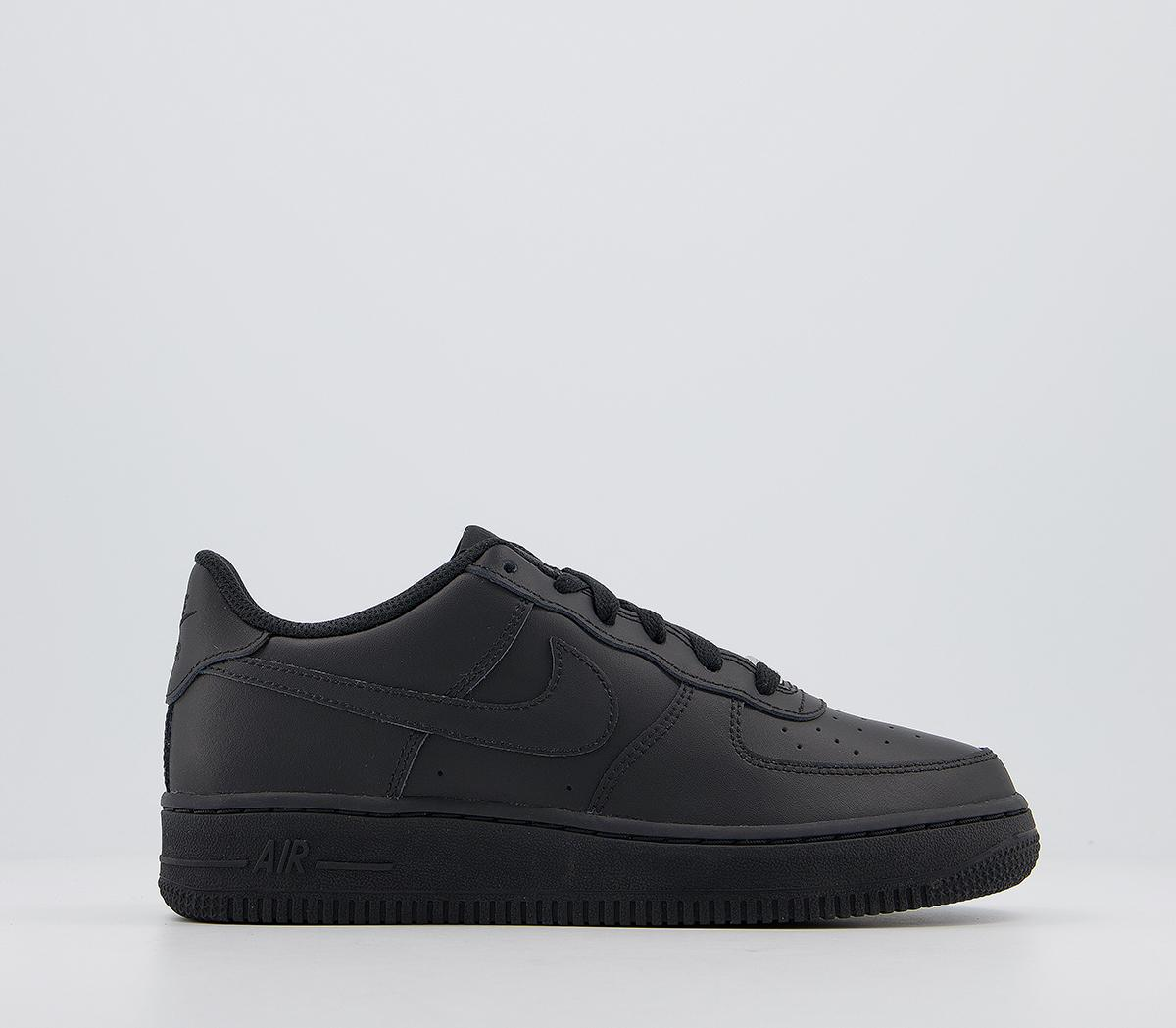 Nike Air Force 1 Trainers Blkblk - Kids
