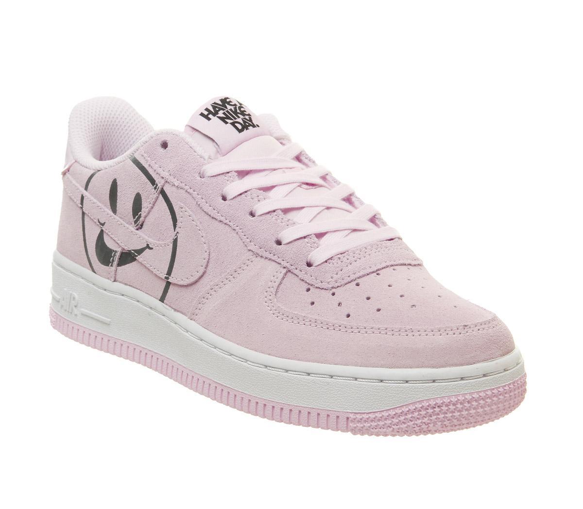 Nike Air Force 1 Trainers Pink Foam