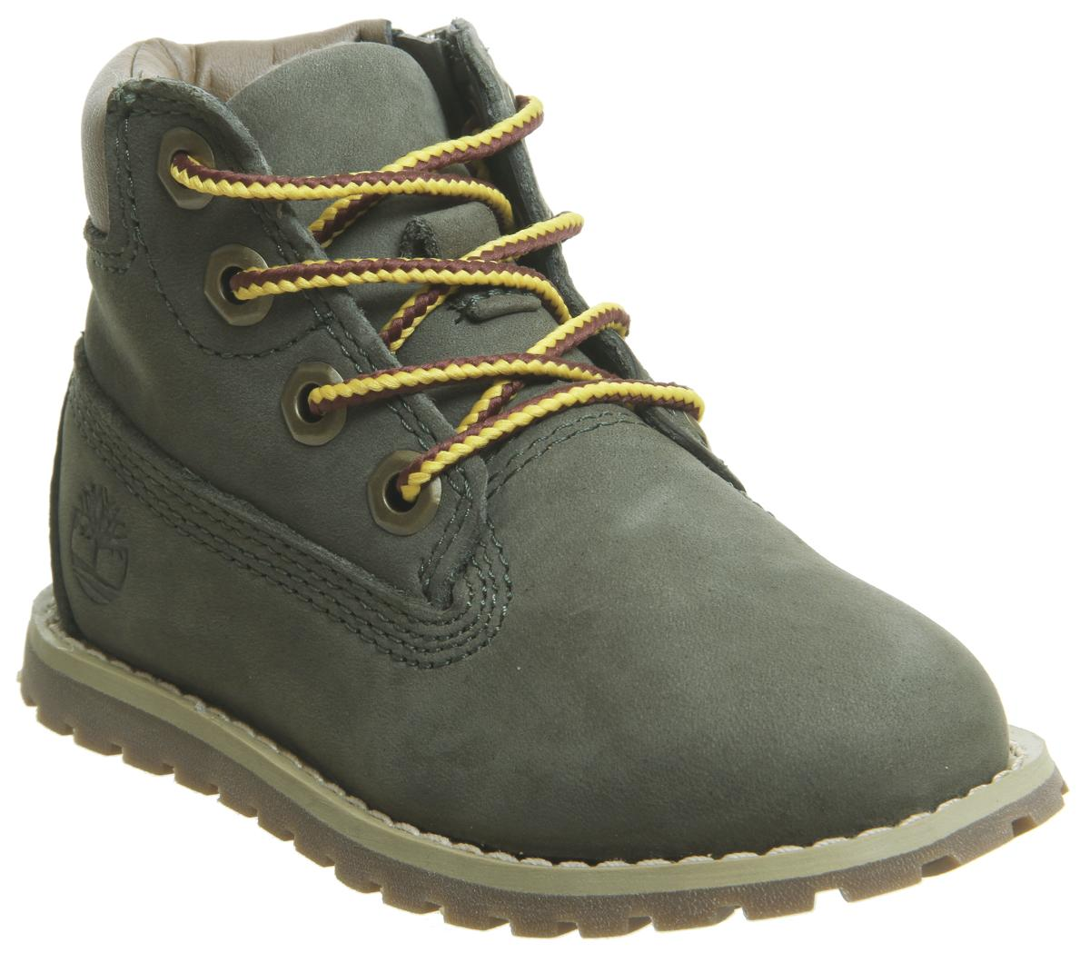 Pokey Pine 6 Inch Boots