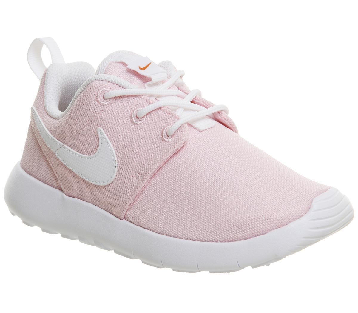 costilla alojamiento Ceder el paso  Nike Roshe Run Ps Prism Pink White Safety Orange - Unisex