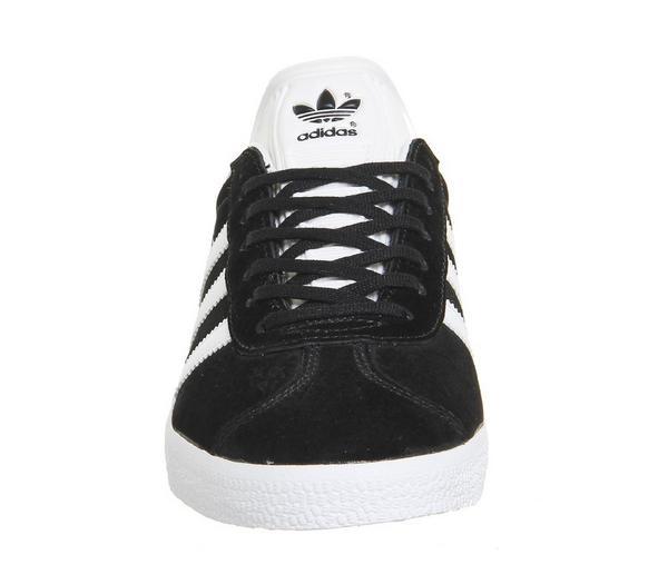 adidas Gazelle Core Black White - His trainers qbRBZBz