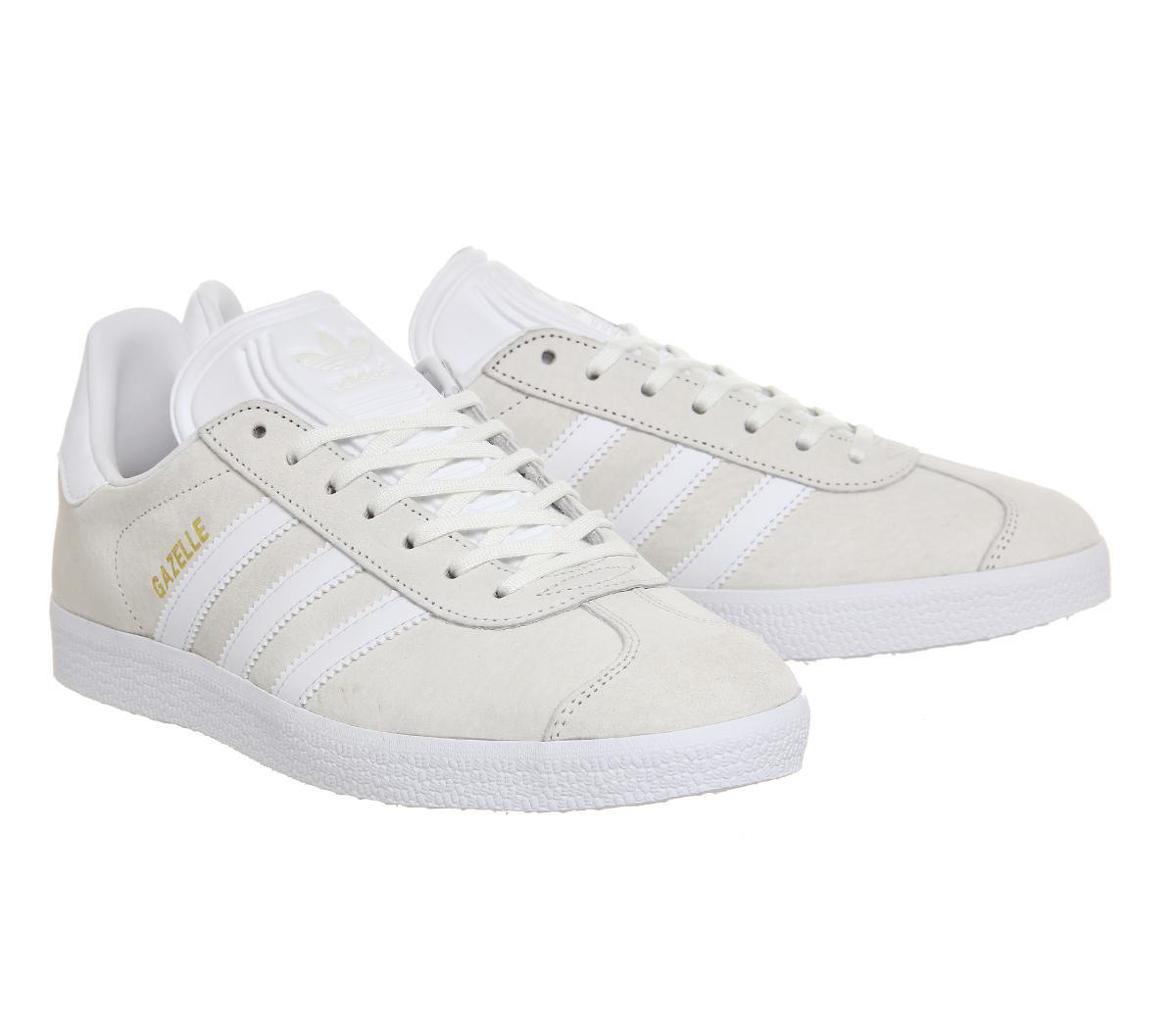 adidas gazelle off white