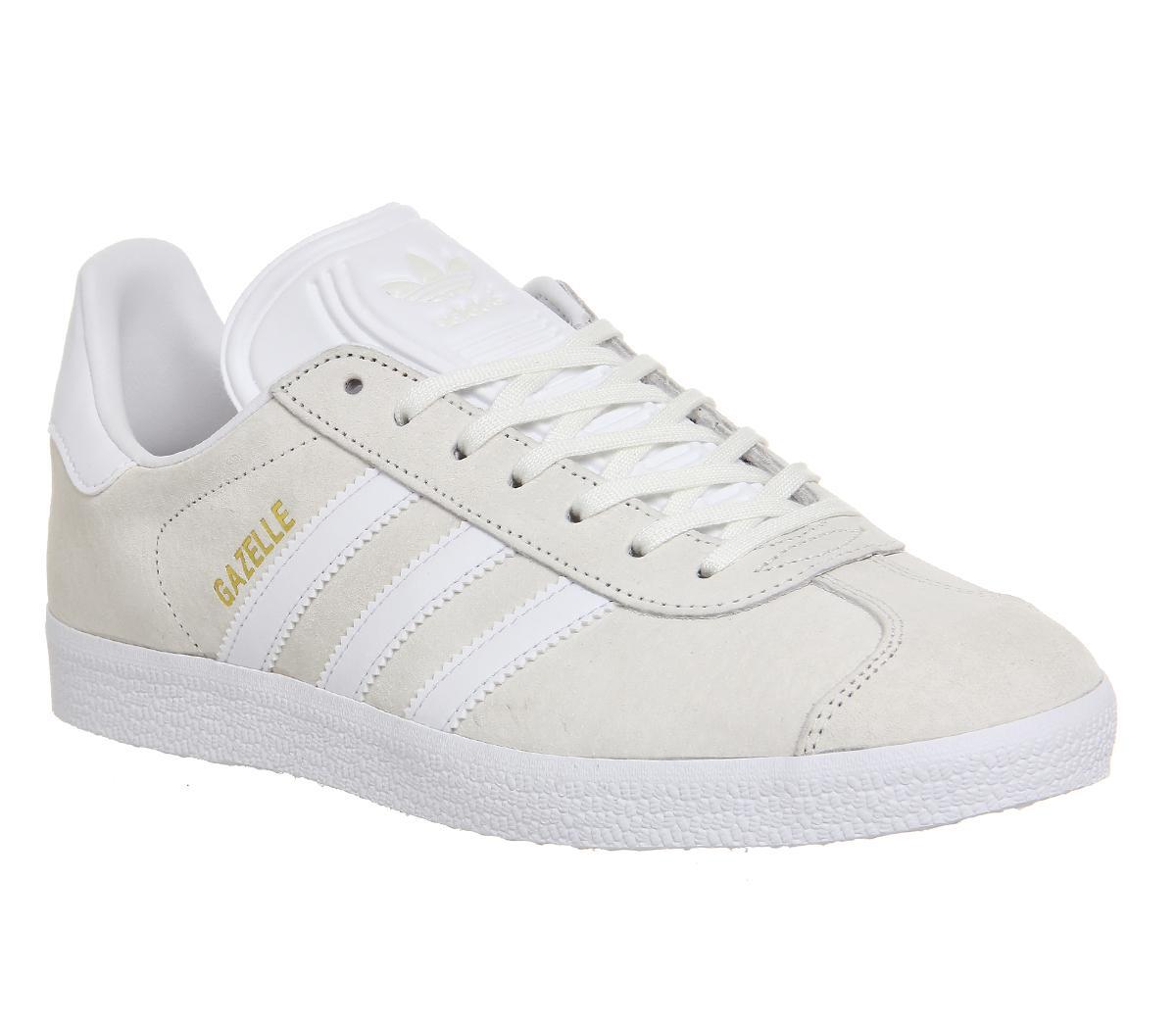 septiembre Decorativo Anticuado  adidas Gazelle Off White - His trainers