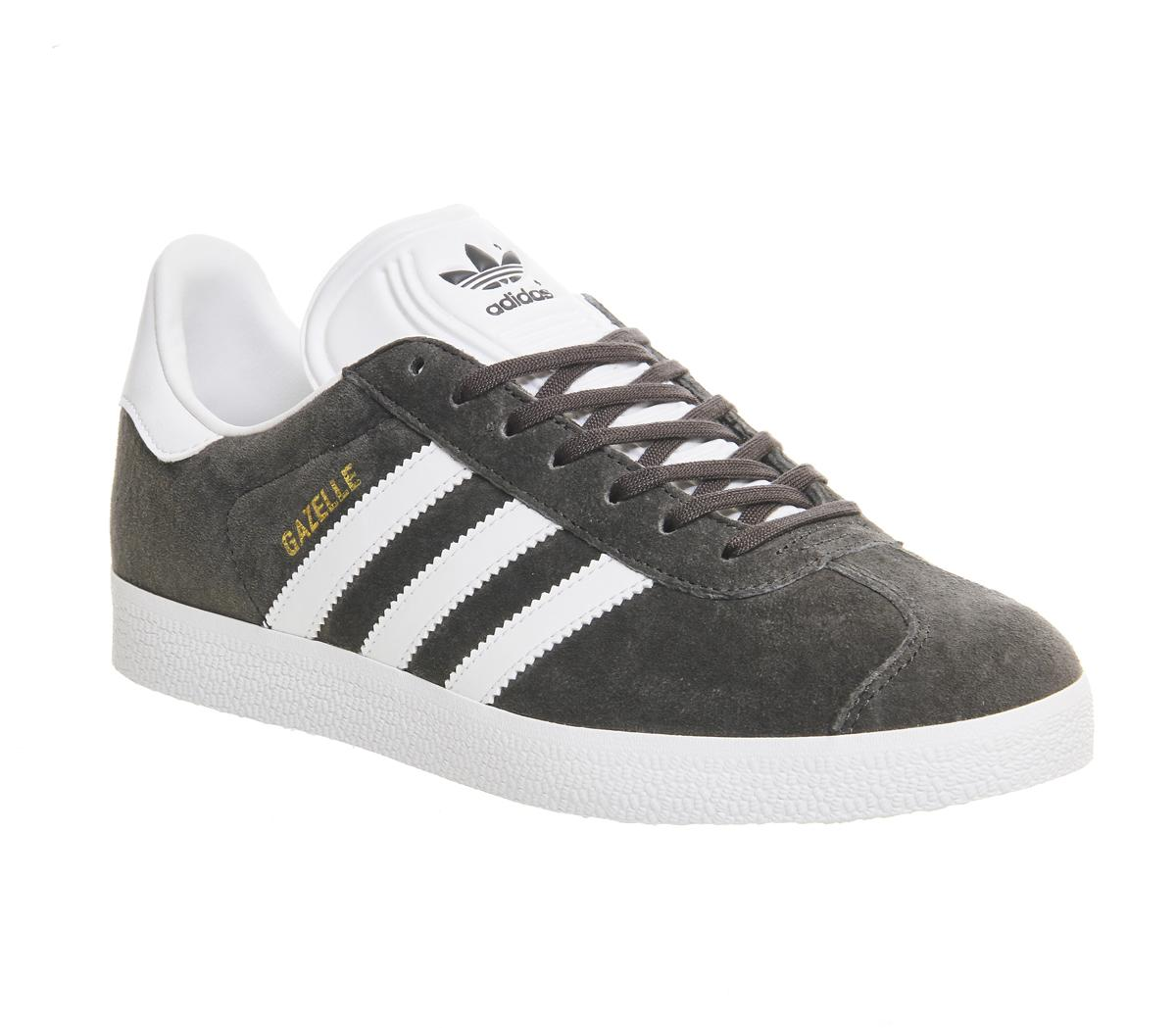 Marcha atrás frecuencia Extranjero  adidas Gazelle Dgh Solid Grey White Gold Met - His trainers