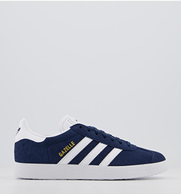 New Infants adidas Pink Gazelle Suede Trainers Retro Lace Up