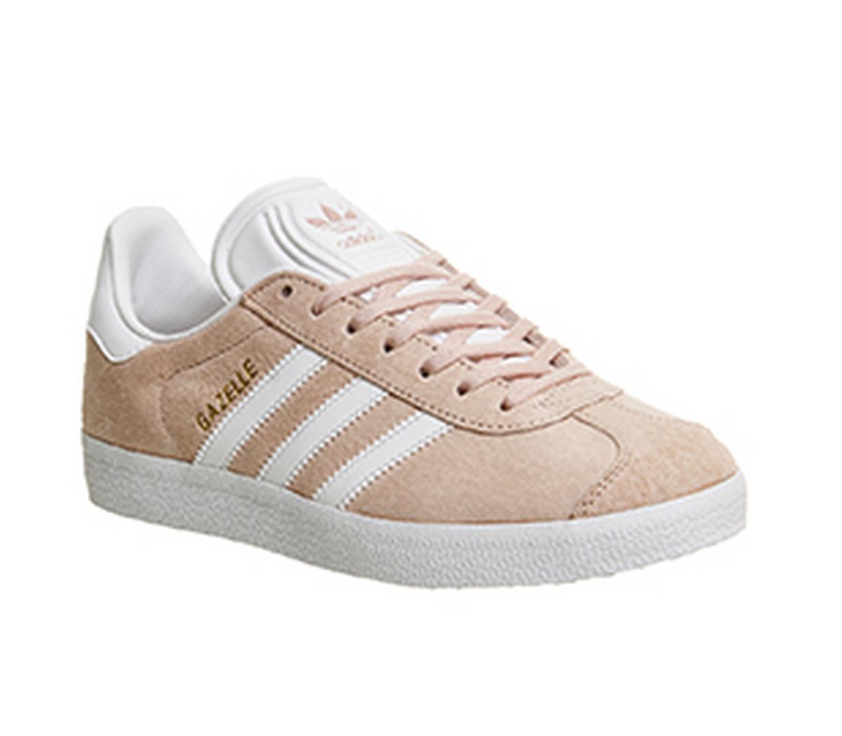 precio de calle venta reino unido la venta de zapatos adidas Gazelle Vapour Pink White - His trainers