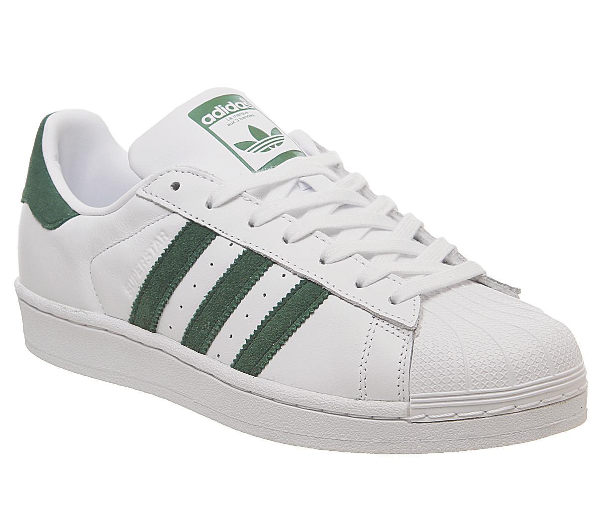 Trainers White Collegiate Green