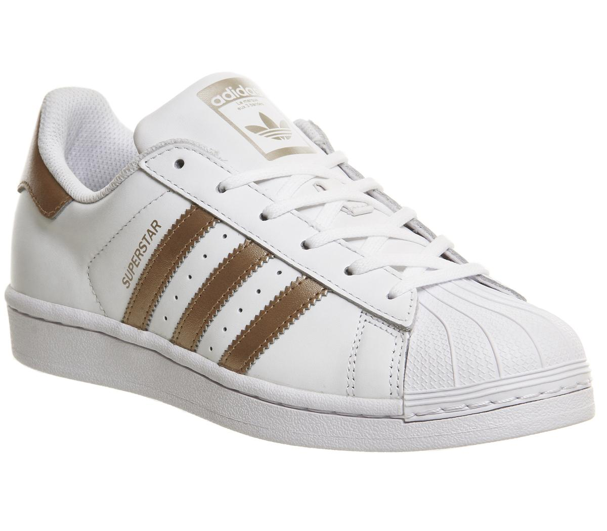 Asesorar Museo veredicto  adidas Superstar 1 White Copper - Hers trainers