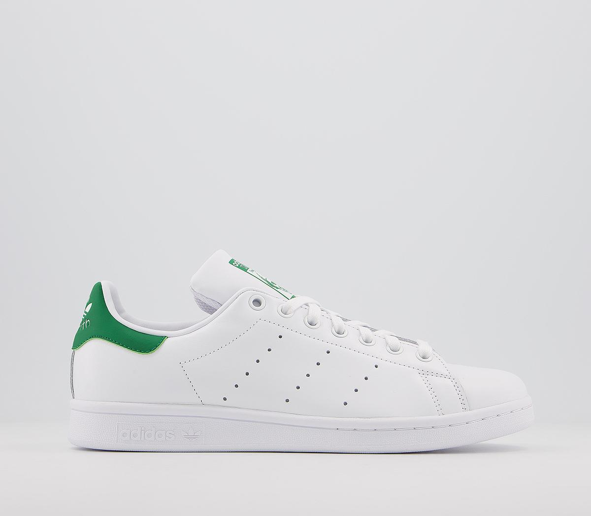 Paisaje ilegal tanque  adidas Stan Smith Trainers Core White Green - Unisex Sports