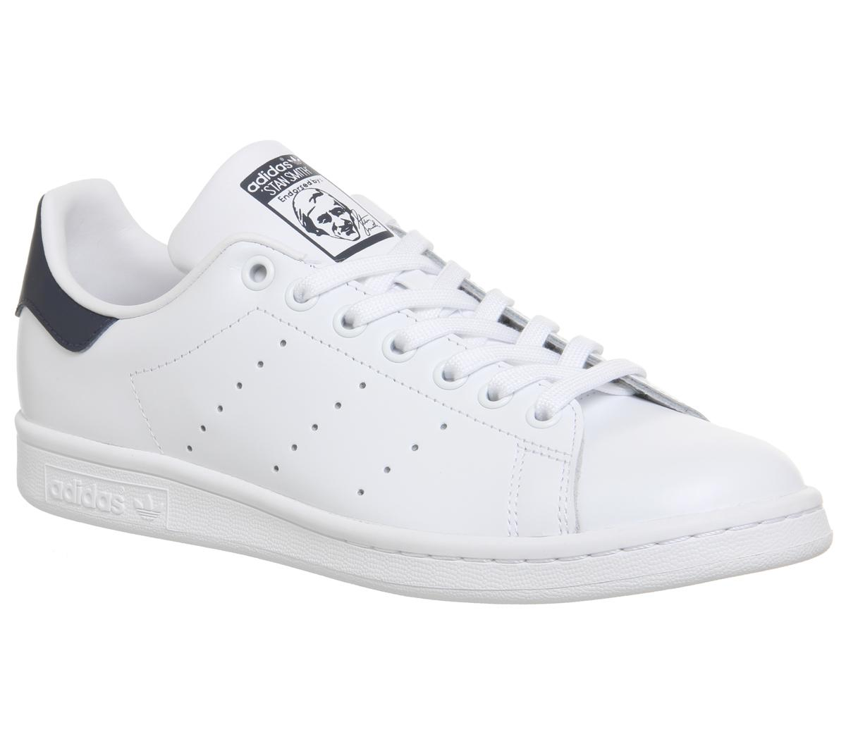 adidas stan smith blue white off 56% skolanlar.nu