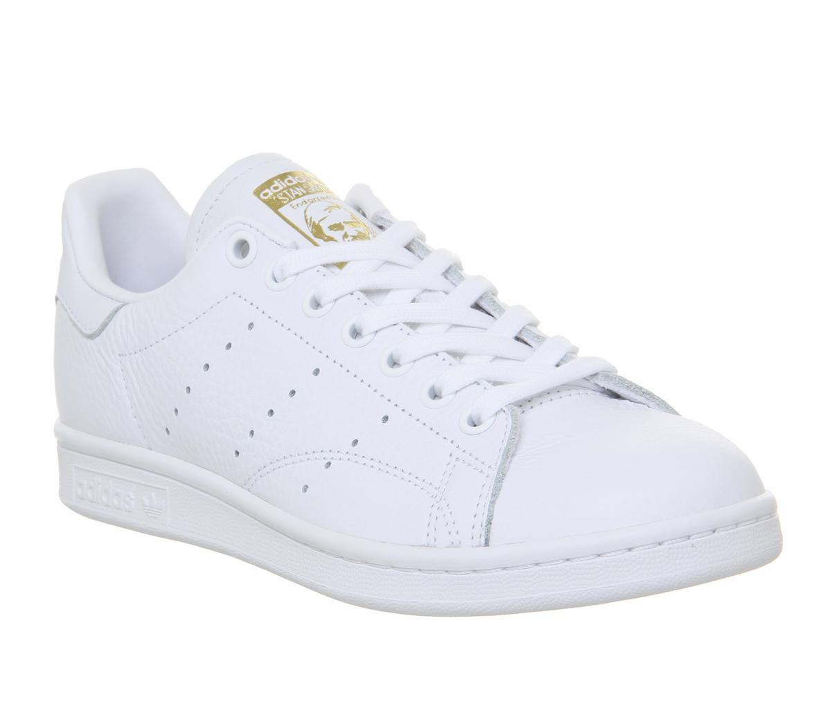 adidas Stan Smith Trainers White Real
