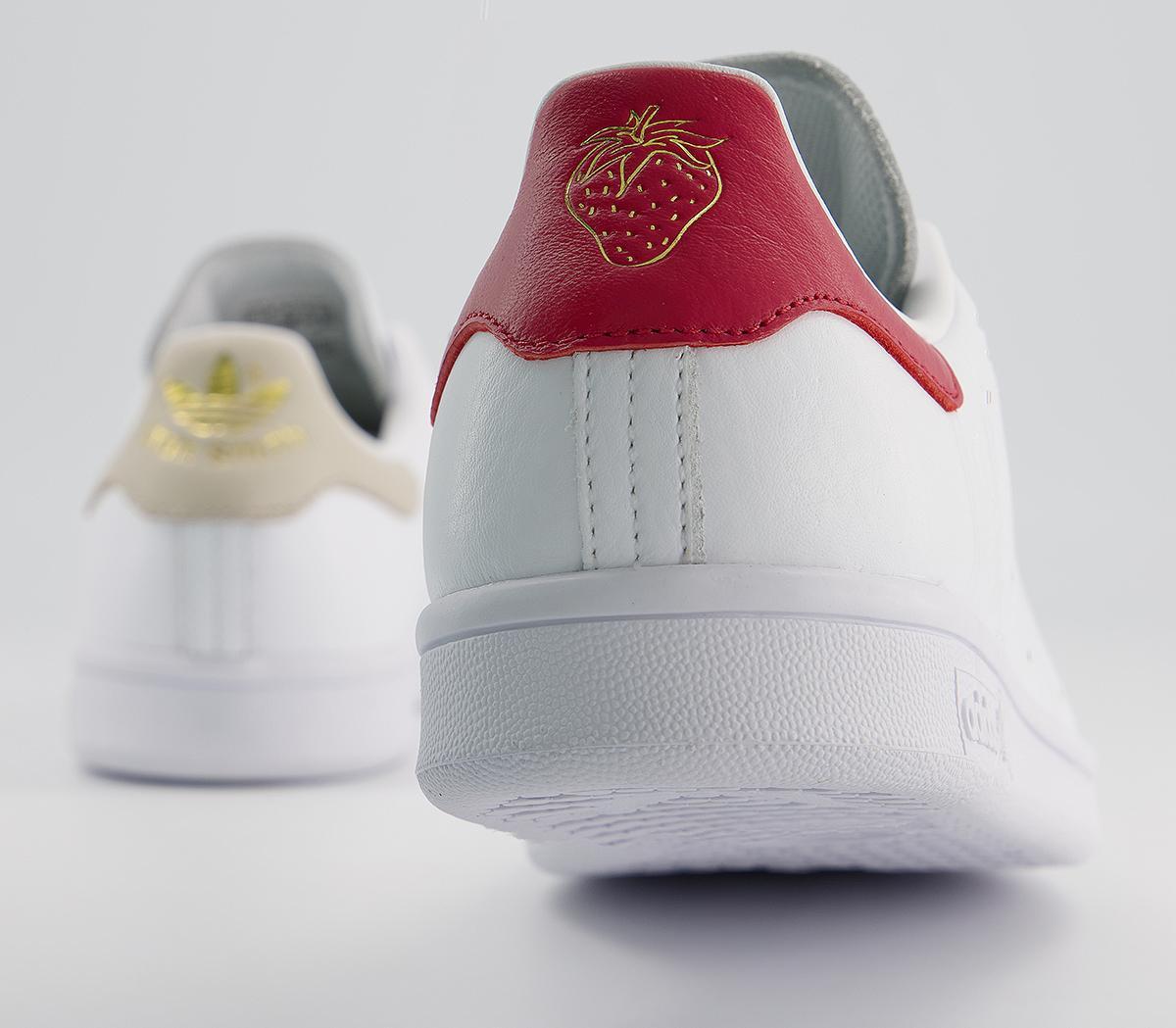 Analítico Regaño unir  adidas Stan Smith Trainers White Strawberries And Cream Exclusive - Unisex  Sports