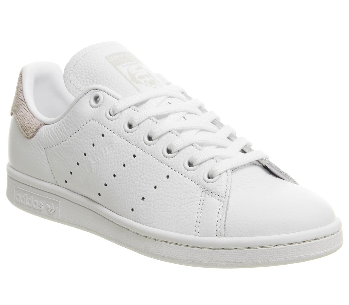 adidas Stan Smith Trainers White Orchid