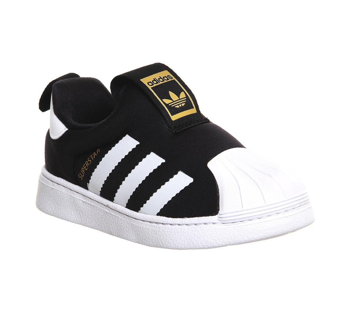 adidas Superstar 360 Inf 3-9 Core Black