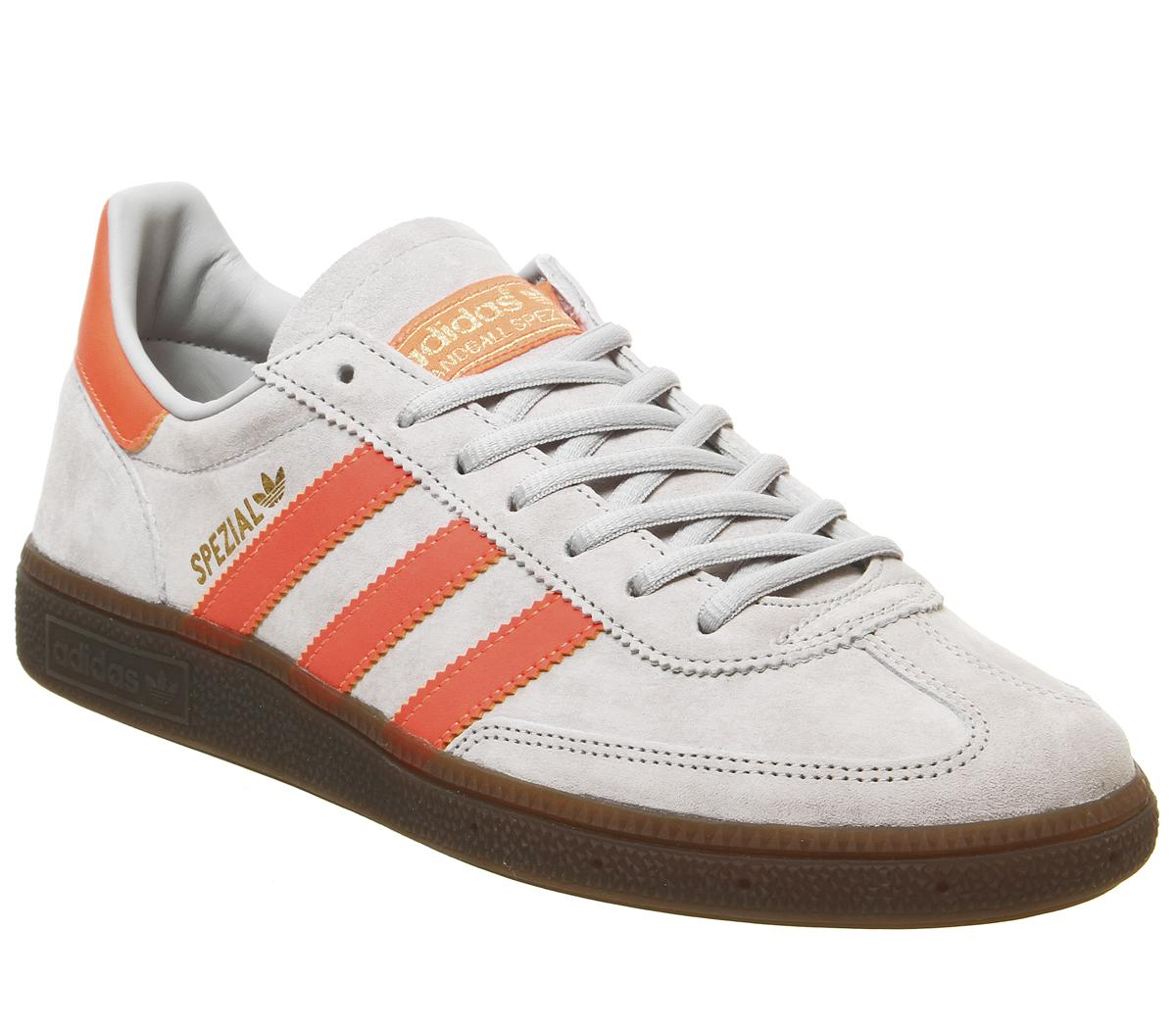 meditación río bufanda  adidas handball spezial grey and orange online -