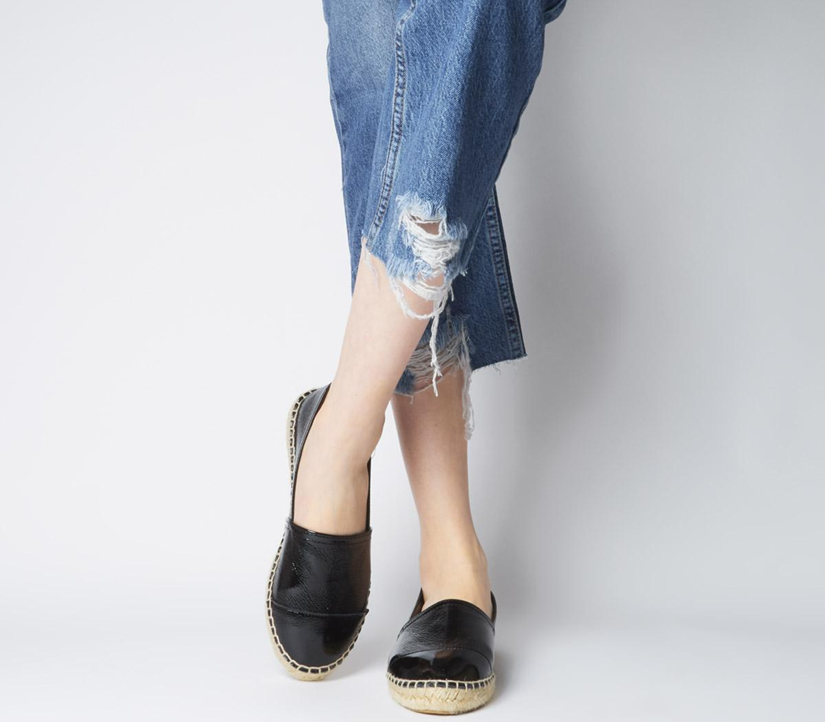 Lucky Espadrille With Toe Cap