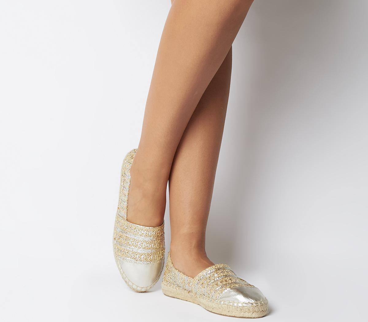 Lucky Espadrille With Toe Cap Flats