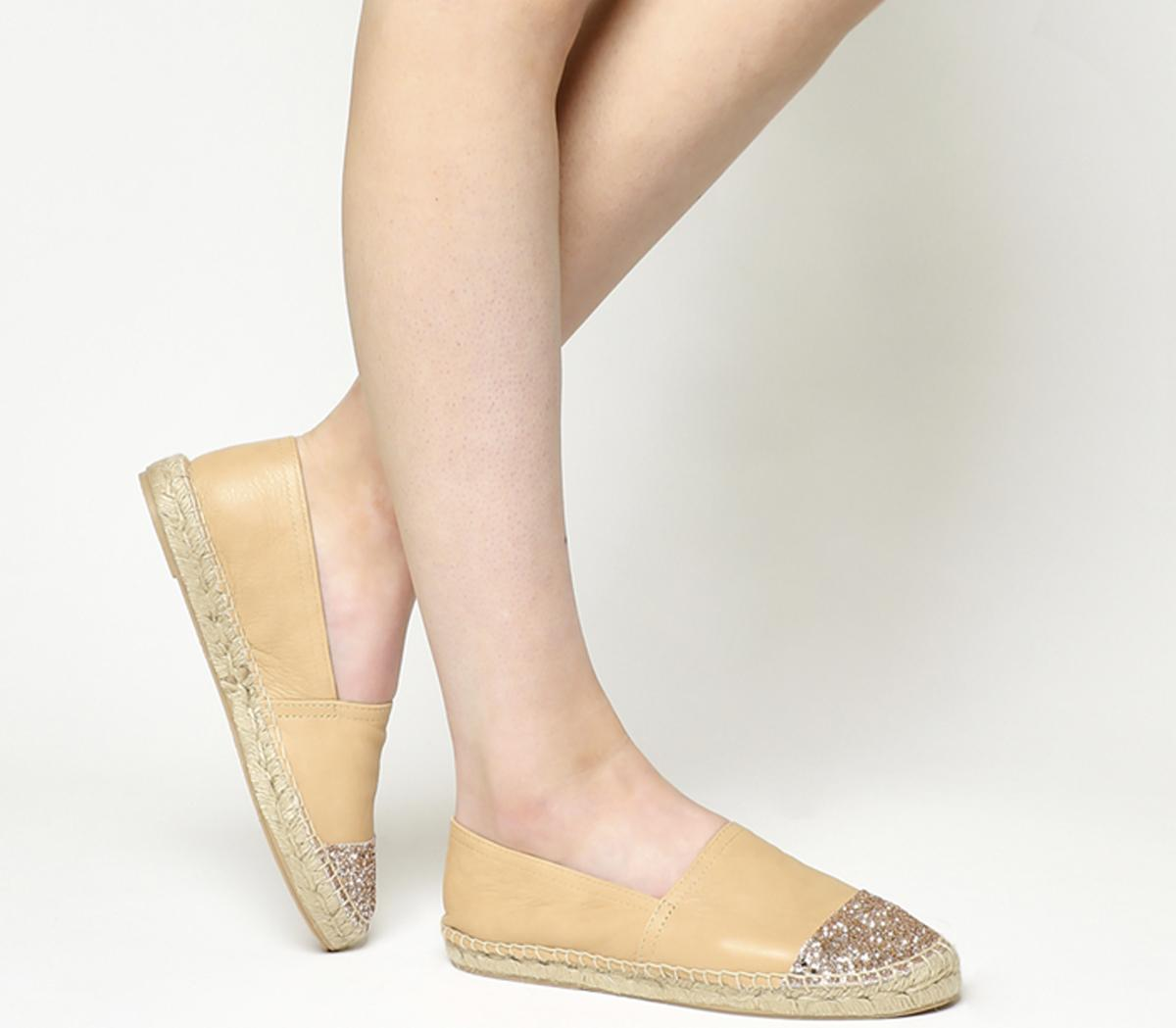 Lucky Espadrilles With Toe Cap