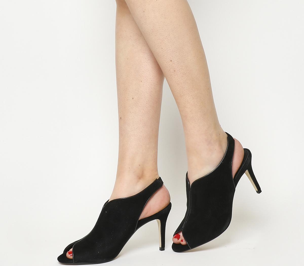 Quiz Peeptoe Shoe Boots
