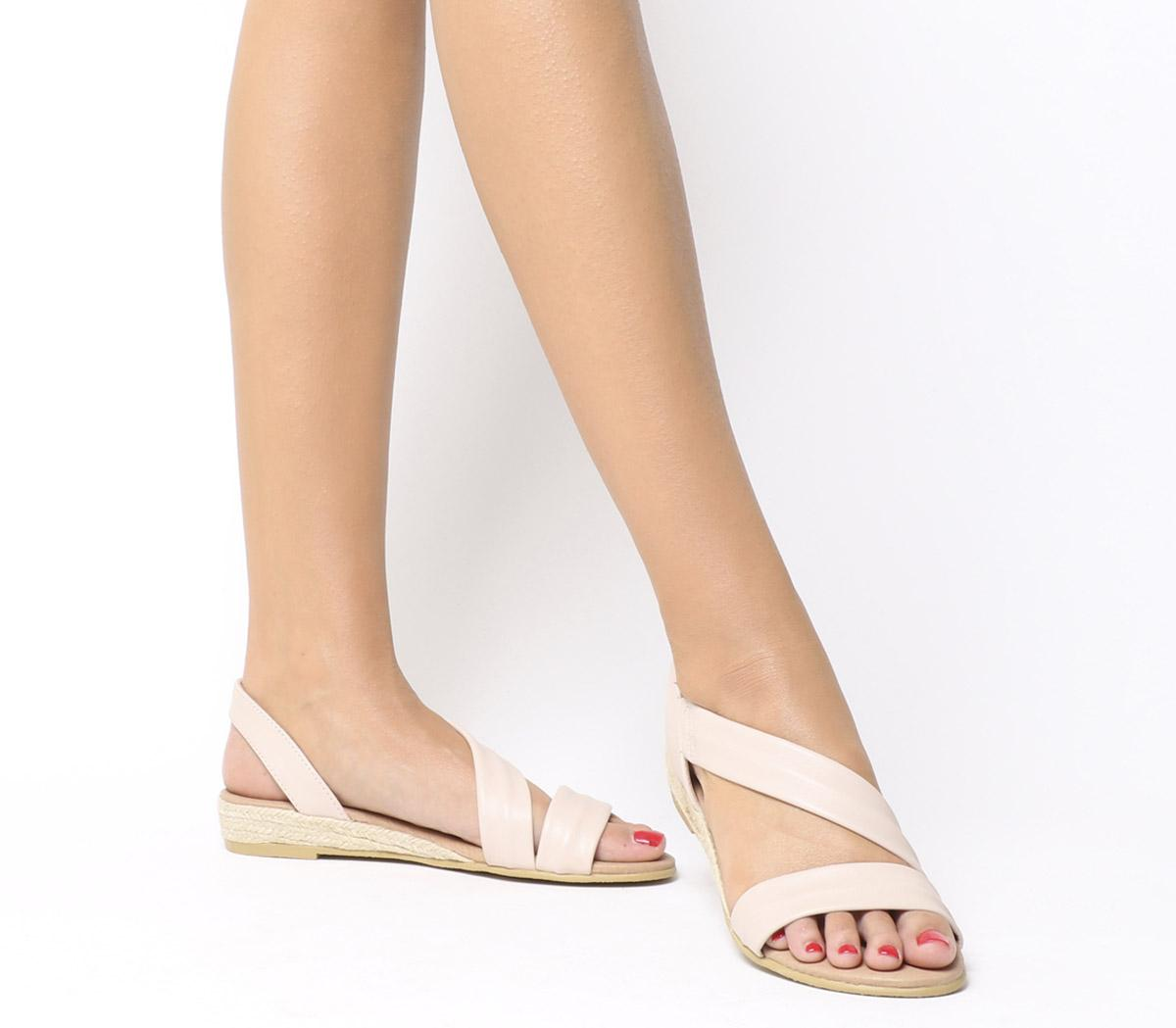 good service look out for beauty Office Heidi Espadrille Sandal Nude Leather - Sandals