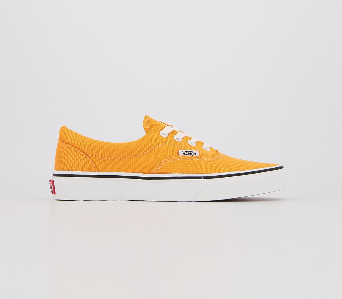 Vans Era Neon Orange True White