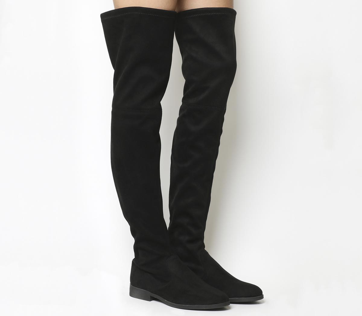 Eden Stretch Over the Knee Boots