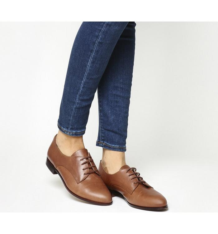 Office Office Reach Softy Lace Up Brogues TAN LEATHER
