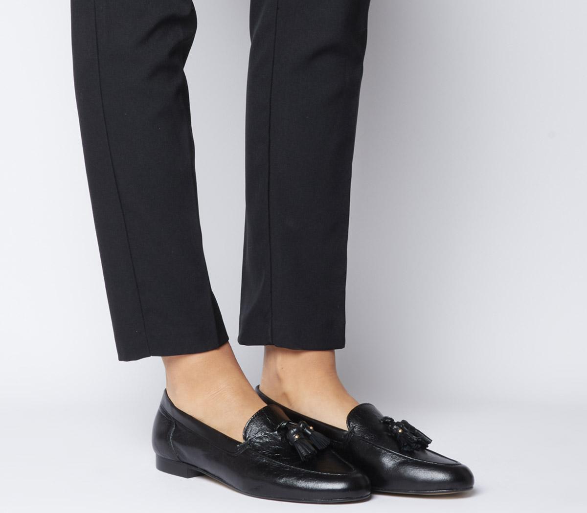 Retro Tassel Loafers