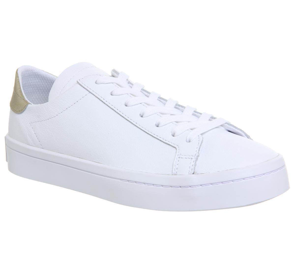 adidas Court Vantage Trainers White