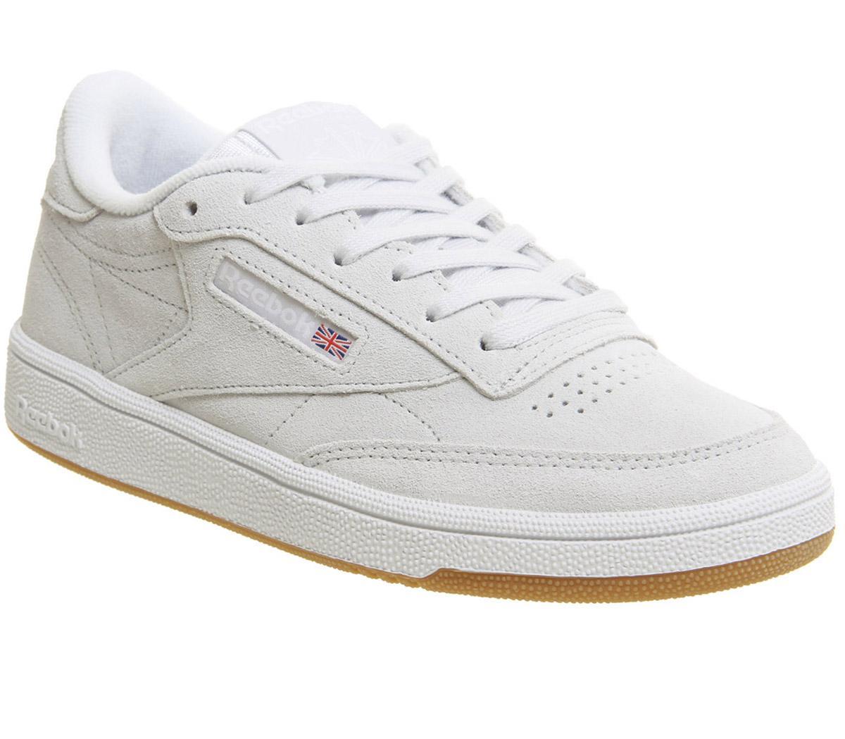 Reebok Club C 85 Spirit White White Gum