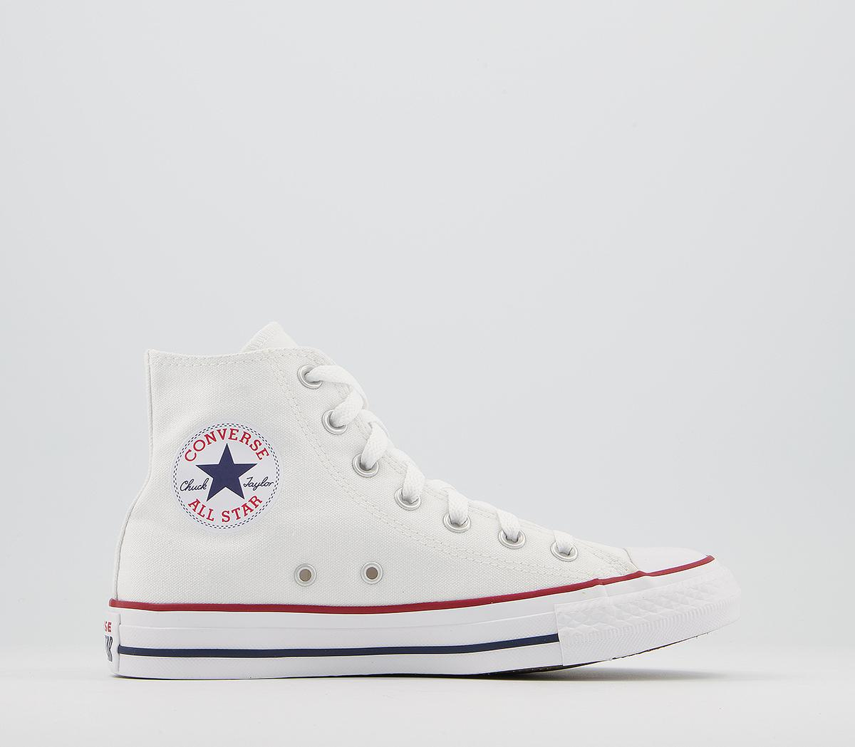 Shinkan Seguro mueble  Converse All Star hi optical white canvas