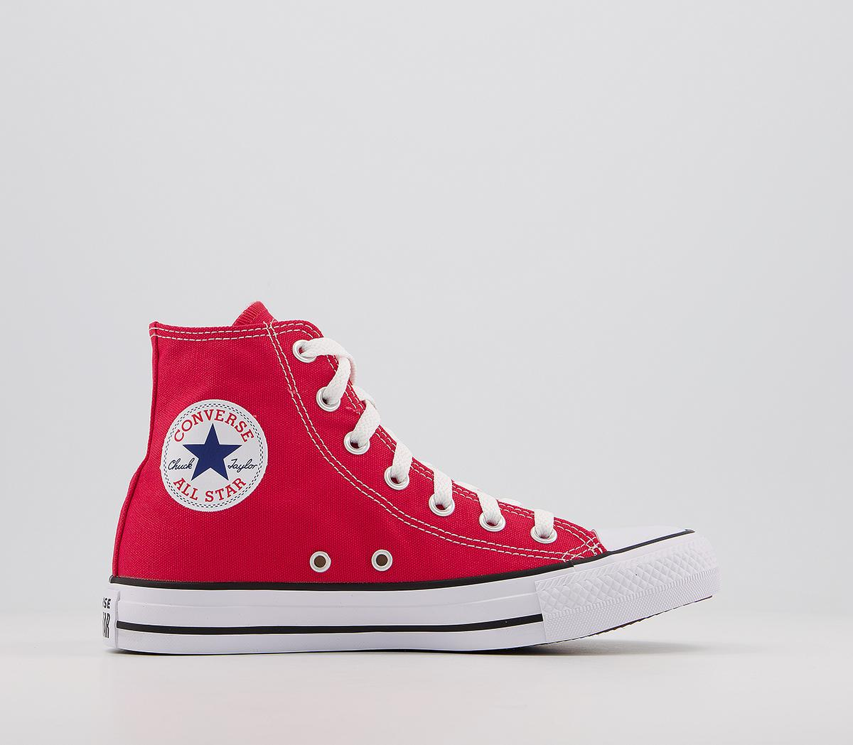 Converse All Star Hi Red Canvas