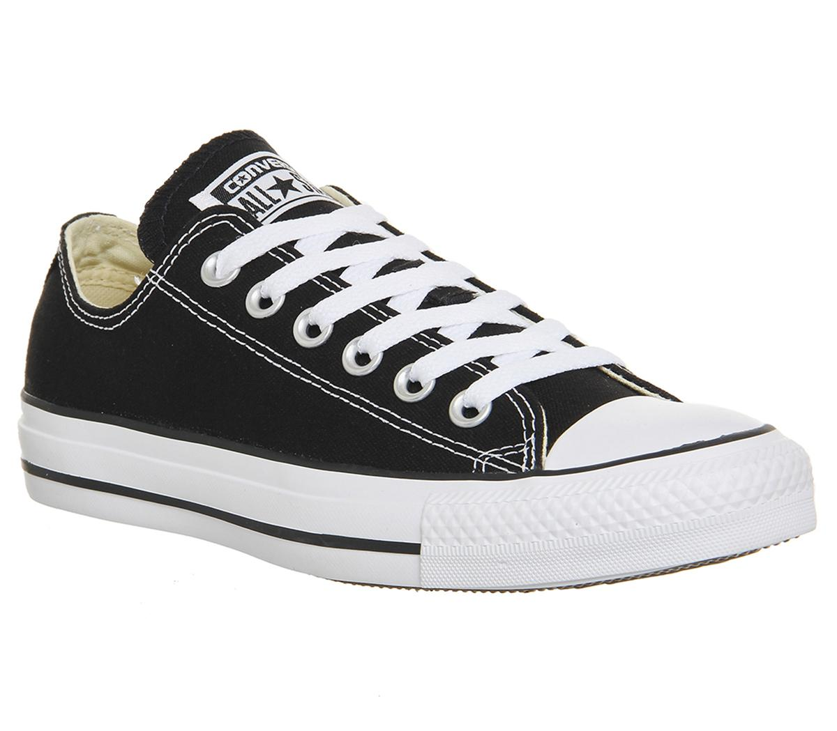designer mode annorlunda pålitlig kvalitet Converse All Star Low Black Canvas - Unisex Sports