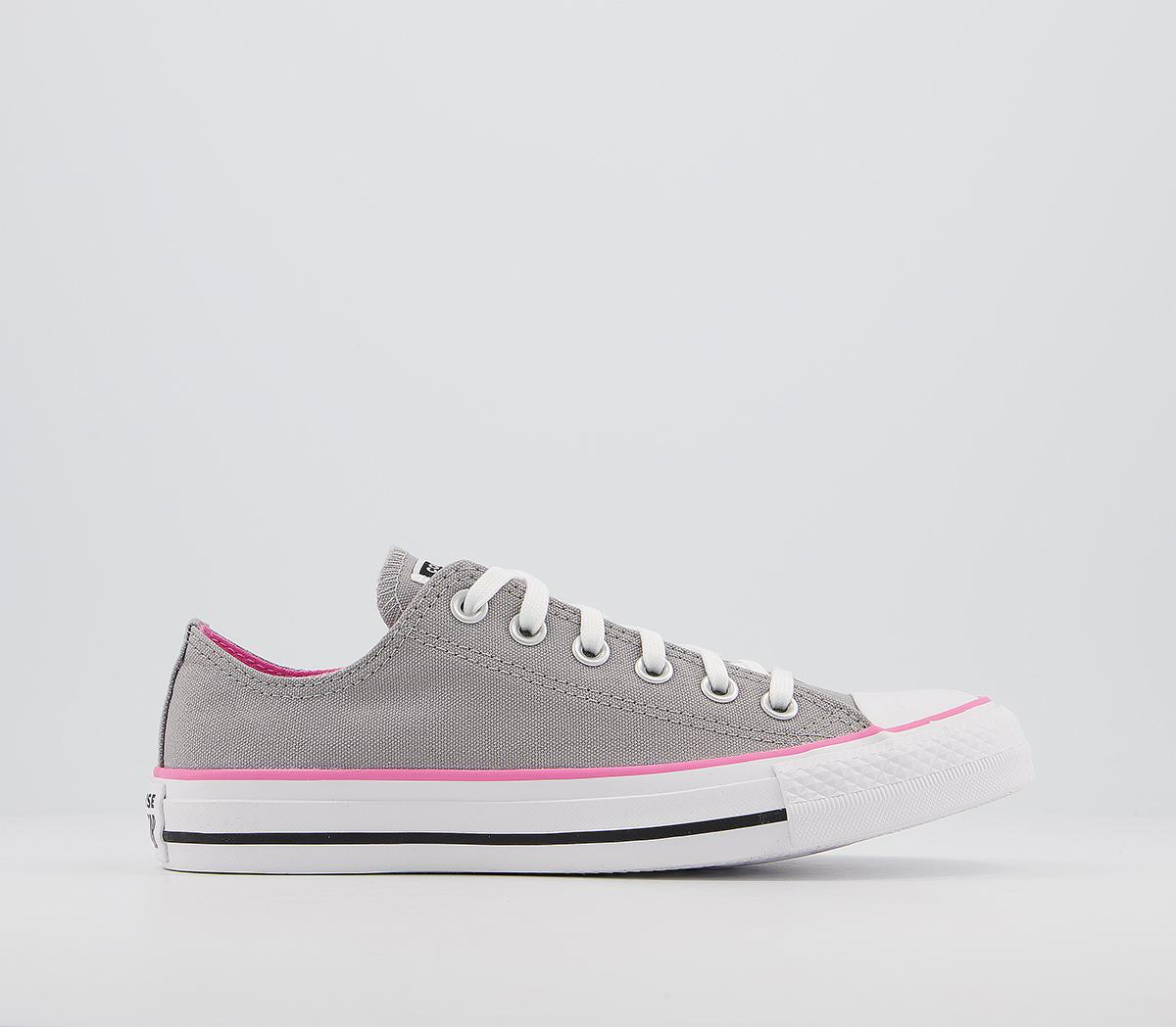 Star Low Trainers Grey Pink - Hers trainers