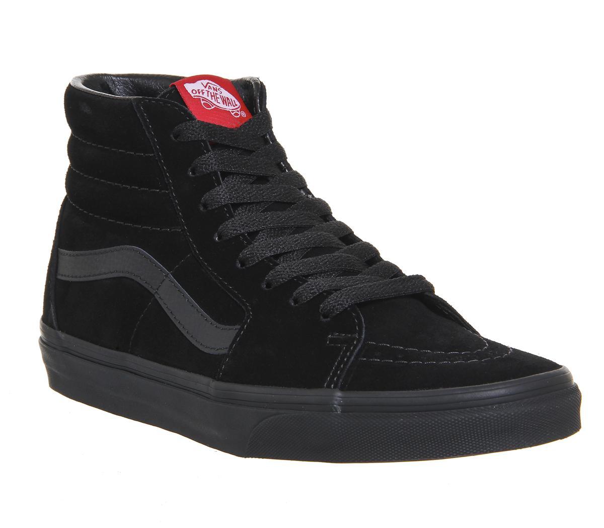 vans skate black