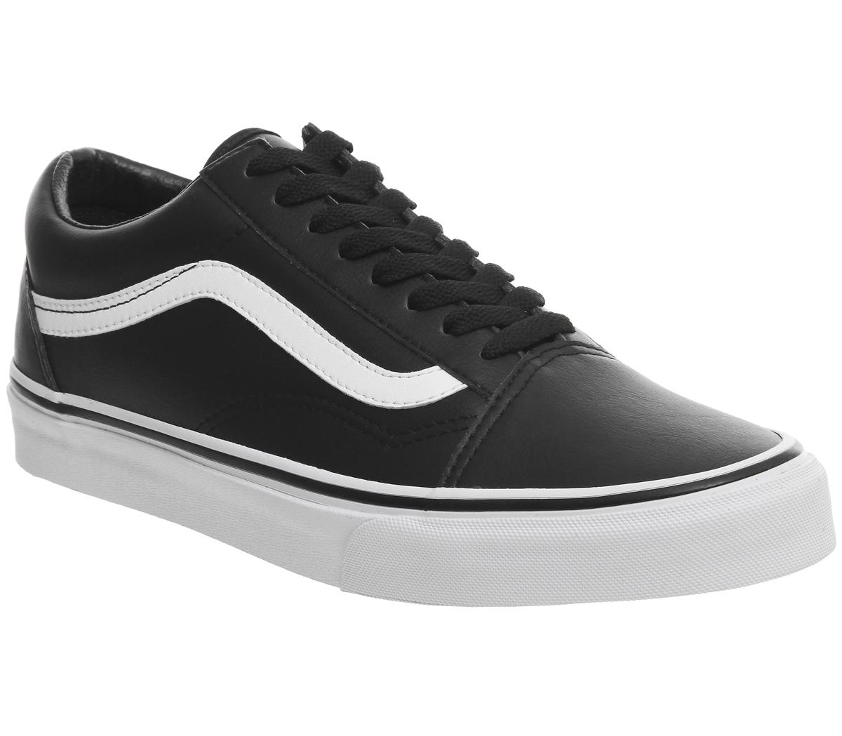 Vans Old Skool Tumble Black White