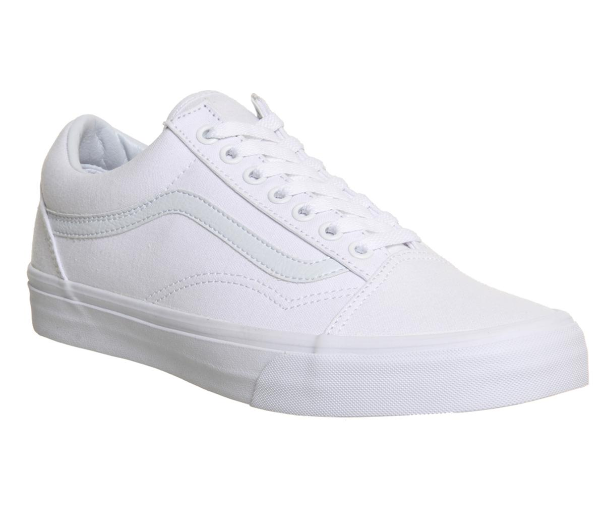 shoe trainer white vans