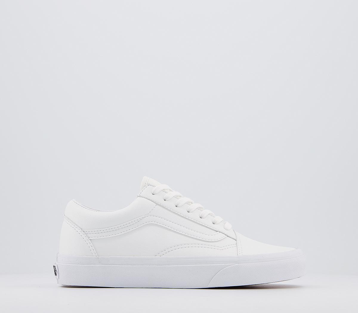 Vans Old Skool Trainers White White
