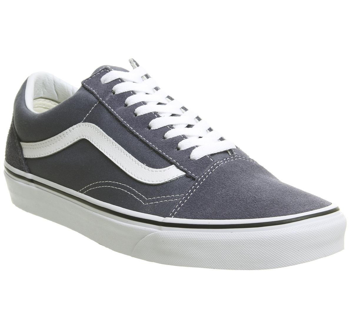 Vans Old Skool Trainers Grisaille White