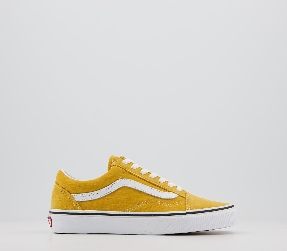 Vans Old Skool Trainers Yolk Yellow