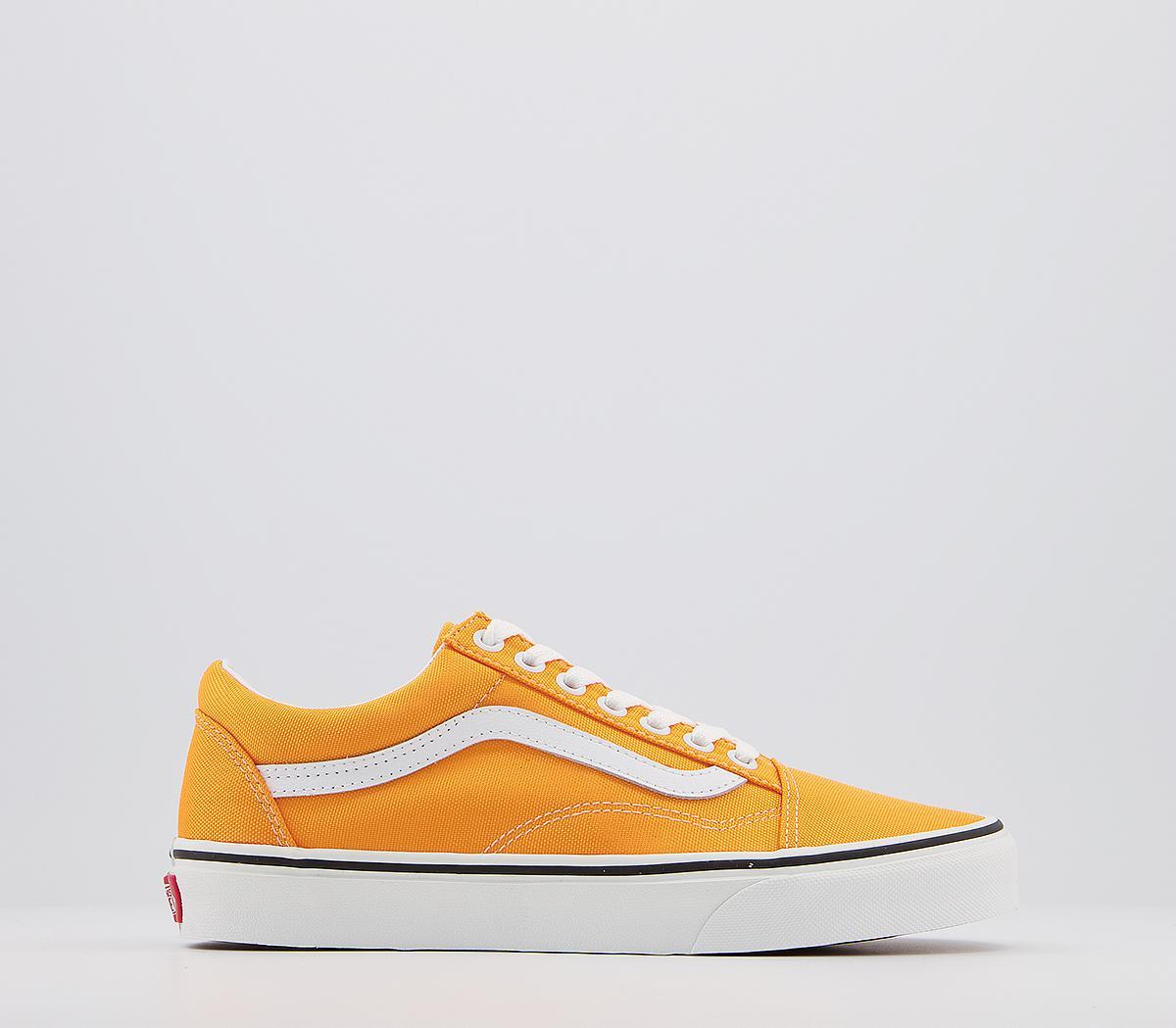 Vans Old Skool Trainers Neon Orange