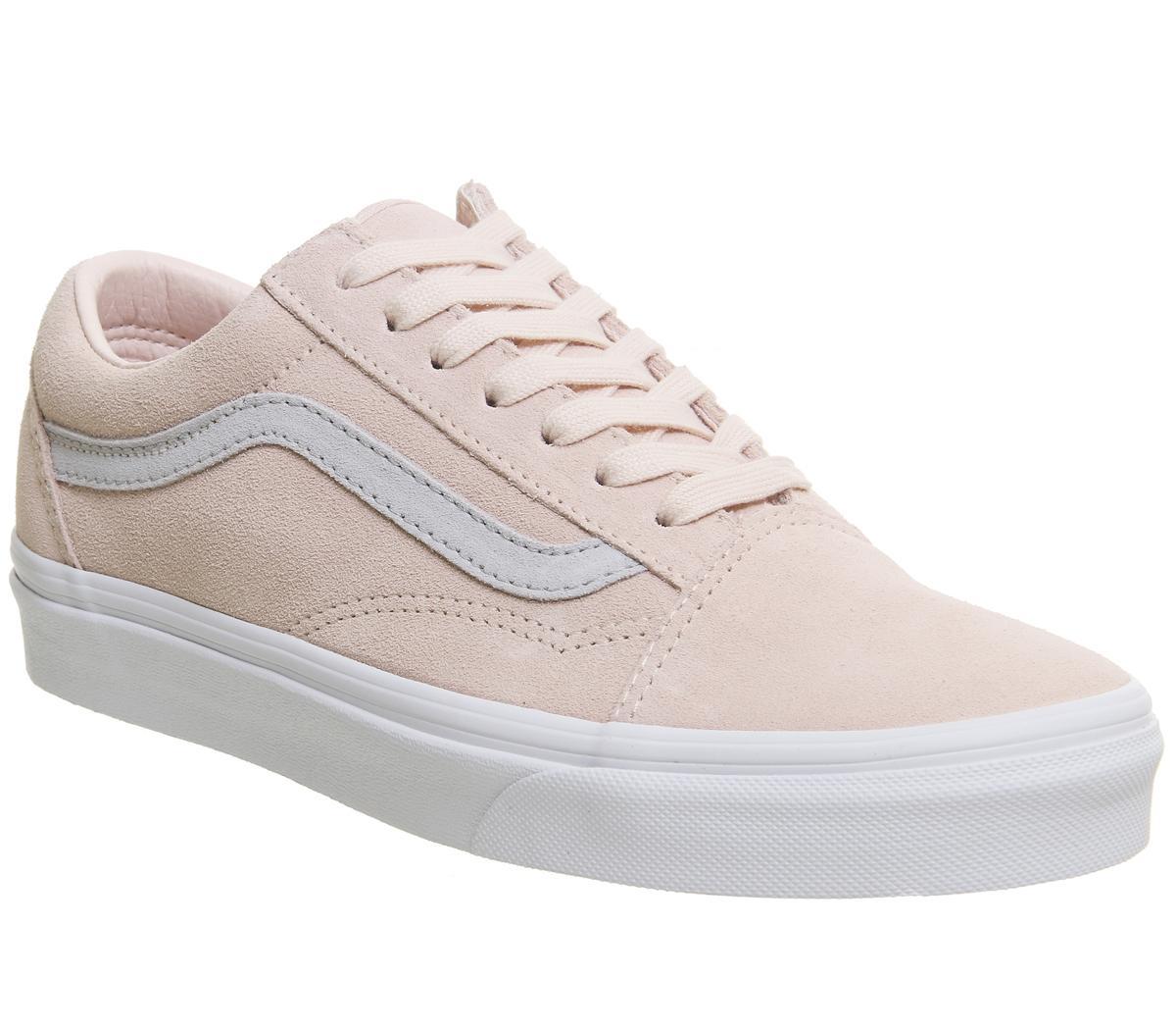 vans old skool pink or grey