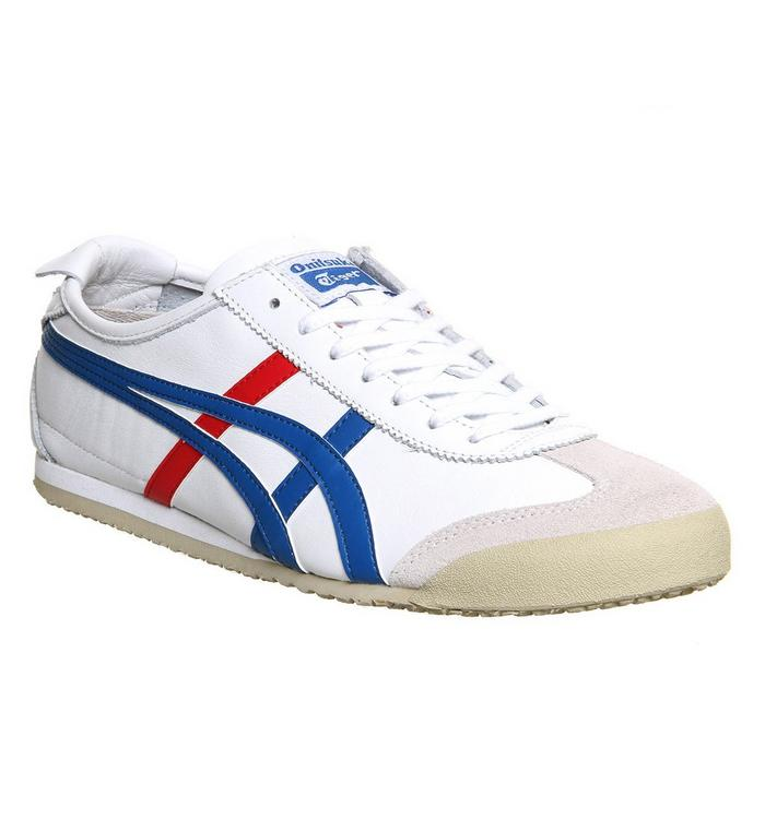 Onitsuka Tiger Onitsuka Tiger Mexico 66 WHITE RED BLUE
