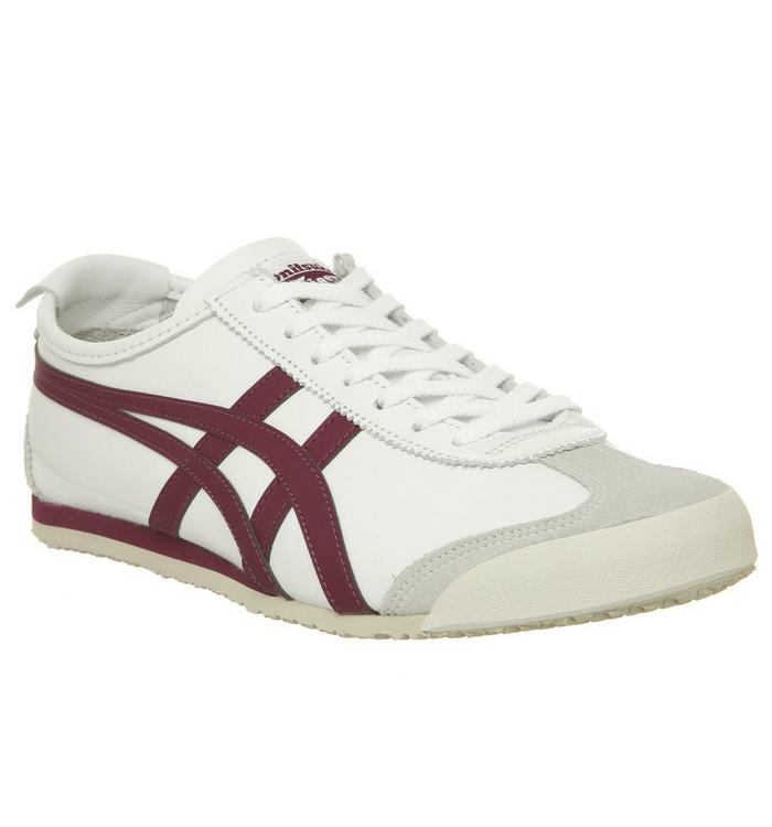 Onitsuka Tiger Onitsuka Tiger Mexico 66 WHITE BURGUNDY