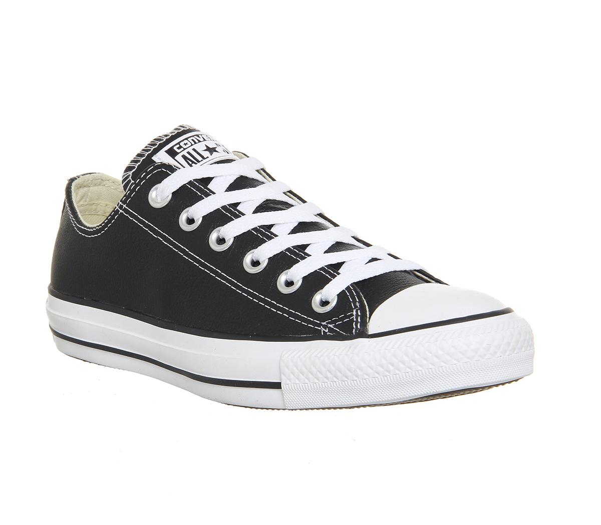 converse all star black and white