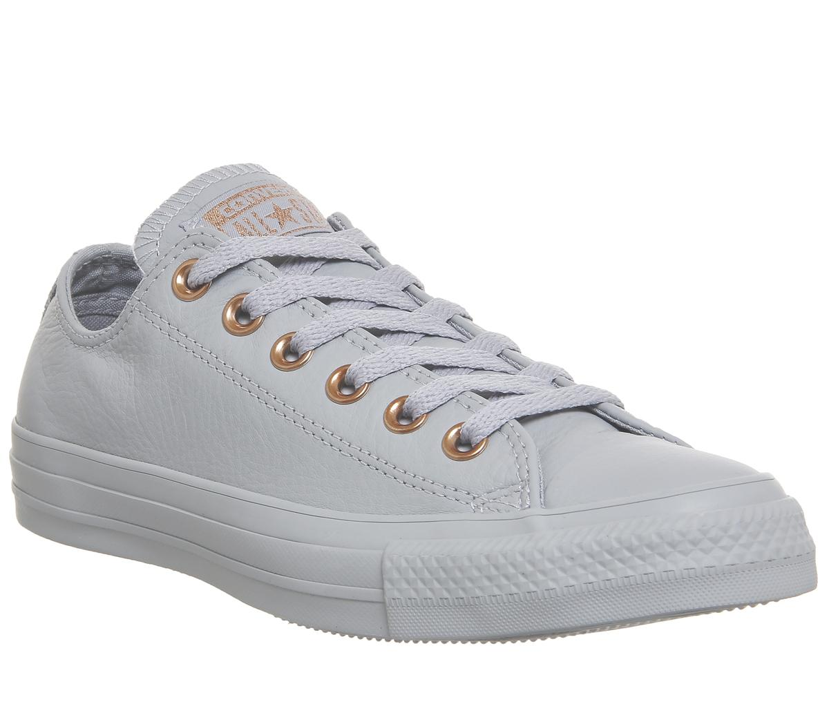 Converse All Star Low Leather Wolf Grey