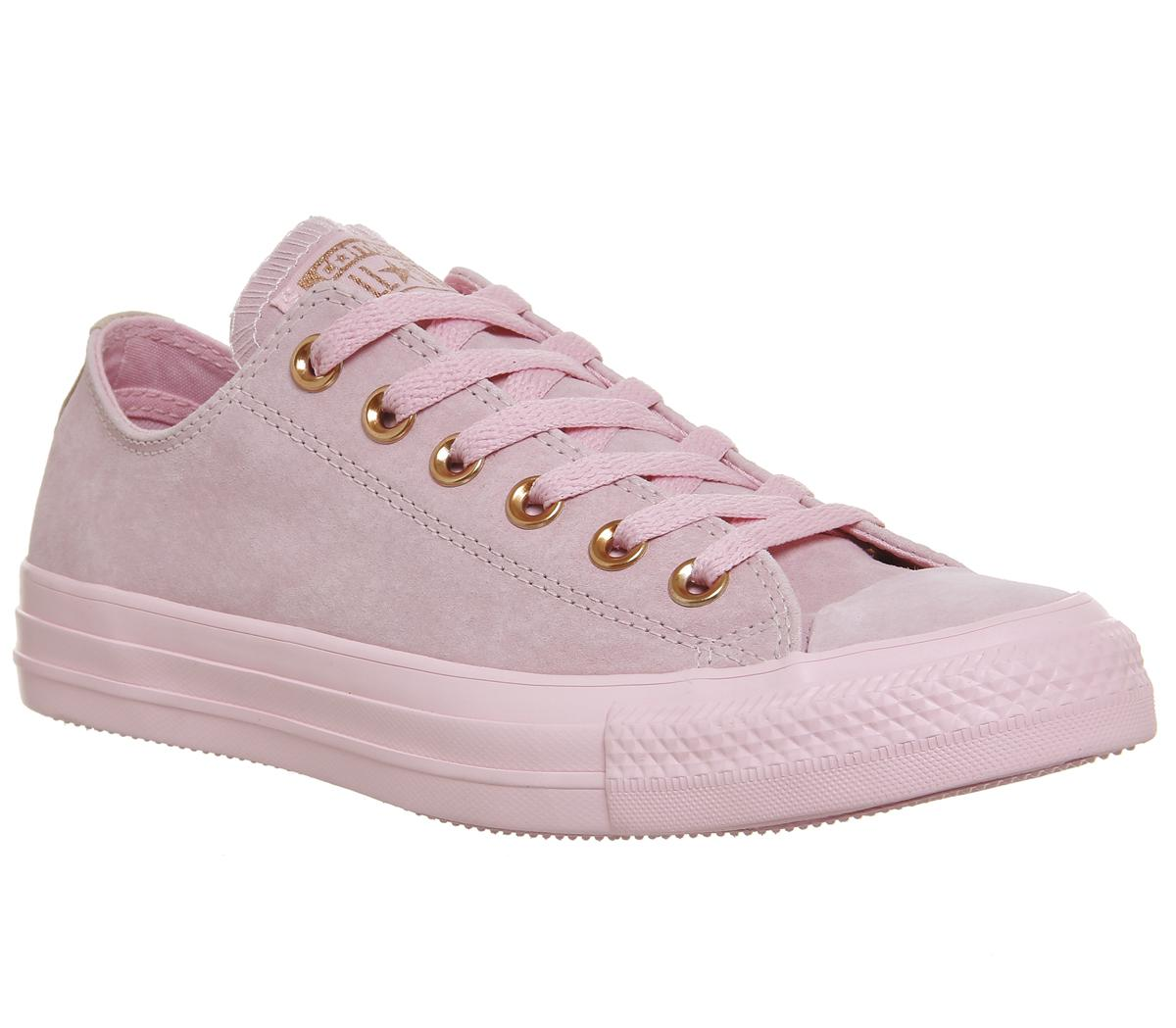 Converse All Star Low Leather Cherry