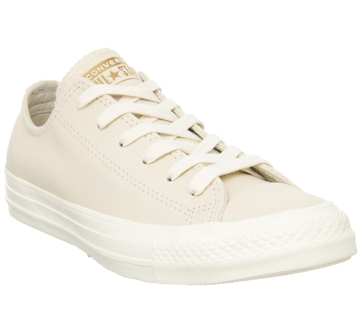 Converse Allstar Low Leather Natural