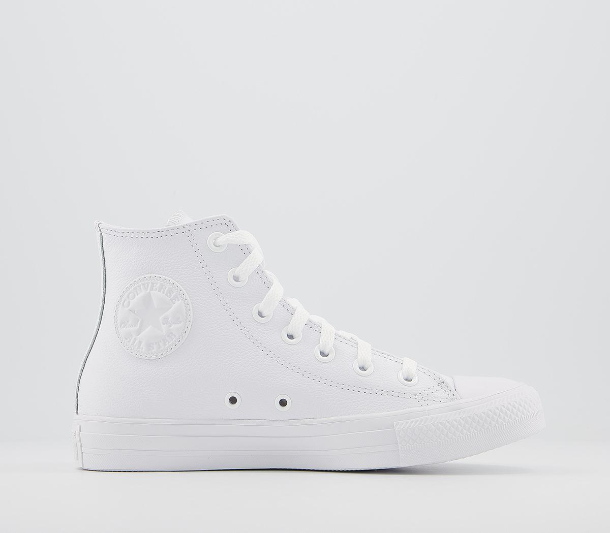 converse all star leather shoes
