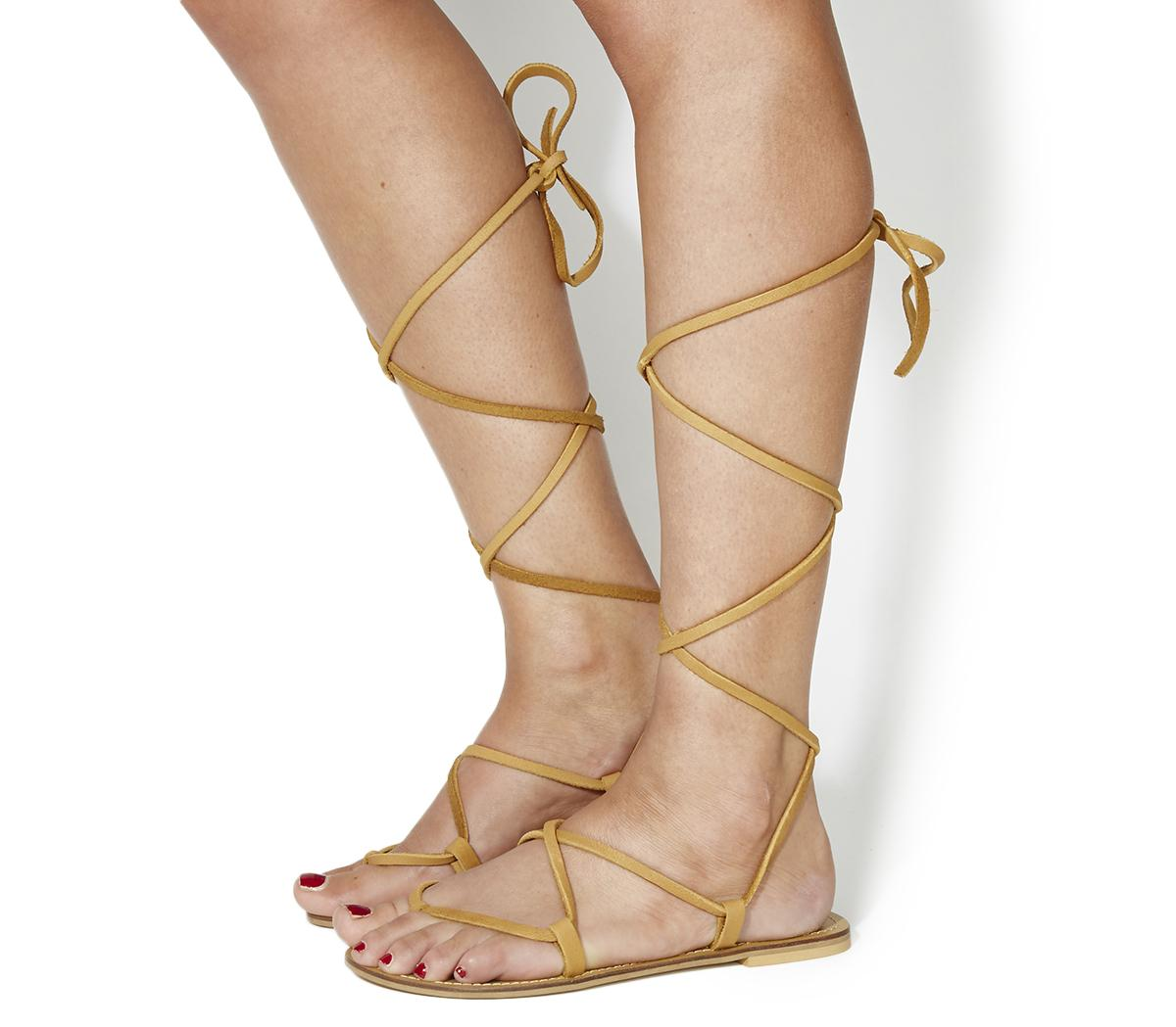 Barefoot Barely There Sandals